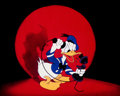 Animation Art:Poster, Der Fuehrer's Face Donald Duck Dye Transfer Print (WaltDisney, 1943). ...