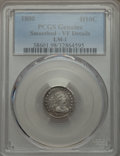 Early Half Dimes, 1800 H10C V-1, LM-1, R.3, -- Smoothed -- PCGS Genuine. VF Details.NGC Census: (0/10). PCGS Population (0/3). Mintage: 40,0...