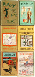 Books:Children's Books, [Children's]. Horatio Alger. Group of Thirty-Five. Variouspublishers and dates. . ...
