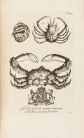Books:Travels & Voyages, [Natural History]. Griffith Hughes. The Natural History of Barbados. London: Printed for the Author, 1750. First edi...