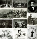 Books:Prints & Leaves, [Abraham Lincoln]. Collection of Twenty Photographic PrintsRelating to Abraham Lincoln. ...