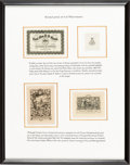 Books:Fine Press & Book Arts, [Bookplates]. Collection of Eight Bookplates from AmericanPresidents. [N.p., n.d.] ... (Total: 2 Items)