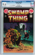 Bronze Age (1970-1979):Horror, Swamp Thing #4 (DC, 1973) CGC NM+ 9.6 White pages....