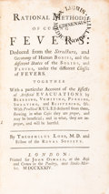 Books:Medicine, Theophilus Lobb. Lobb's Works on Fevers. London: 1734, 1735....(Total: 2 Items)