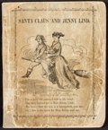 Books:Children's Books, [P. T. Barnum, association]. Santa Claus and Jenny Lind. NewYork: John R. M'Gown, [1850]....