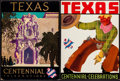 Books:Prints & Leaves, [Texana]. Six Original Texas Centennial Displays. (1936)....(Total: 6 Items)
