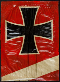 Replica WWI German Aircraft Fabric With Iron Cross Insignia