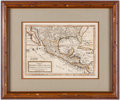 Books:Americana & American History, [Map]. H[erman] Moll. A Map of Mexico or New Spain Florida nowcalled Louisiana and Part of California &c. [Lond...
