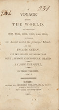 Books:Travels & Voyages, John Turnbull. A Voyage Round the World, in the Years 1800, 1801, 1802, 1803, and 1804 ... London, 1805.... (Total: 3 Items)