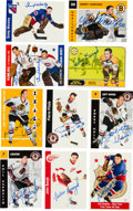 Hockey Cards:Lots, 1968-1997 Signed Hockey Card Collection (91). ...