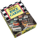 Olympic Cards:General, 1988 Maxx Racing Wax Box (Charlotte Version) With 44 Unopened Packs. ...