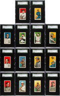 Baseball Cards:Lots, 1909-11 T206 Sovereign 350/460 SGC 70 EX+ 5.5 Collection (14) WithMcGraw & Taylor. ...