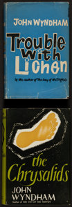 Books:Science Fiction & Fantasy, John Wyndham. The Chrysalids [and] Trouble with Lichen. London: Michael Joseph: [1955, 1960]. ... (Total: 2 Items)