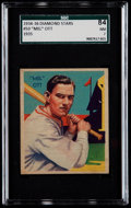 Baseball Cards:Singles (1930-1939), 1934-36 Diamond Stars Mel Ott, 1935 #50 SGC 84 NM 7....