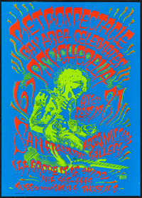 """Retrospectacle: Bay Area Celebrates Psychedlia 67-87 by Rick Griffin (Rick Griffin, 1987). Psychedelic Poster (17""""..."""