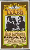 "Movie Posters:Rock and Roll, The Doors by Bob Masse (2008). Autographed Concert Reprint Posters(2) (14"" X 22.75"" & 17"" X 28"") Fabulous Forum & BerkelyC... (Total: 2 Items)"