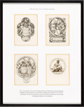 Books:Fine Press & Book Arts, [Bookplates]. Stephen Gooden. Collection of Eight Bookplates.[N.p., n.d.] ... (Total: 2 Items)