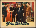 "Movie Posters:Crime, San Quentin (Warner Brothers, 1937). Lobby Card (11"" X 14"").Crime.. ..."