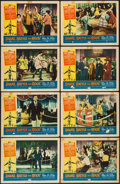 """Movie Posters:Rock and Roll, Shake, Rattle and Rock (American International, 1956). Lobby CardSet of 8 (11"""" X 14""""). Rock and Roll.. ... (Total: 8 Items)"""