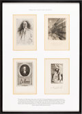 Books:Americana & American History, [Bookplates]. [Sidney Lawton Smith (1845-1929)]. Collection of TenBookplates. [American, early 20th century]. Attractively... (Total:2 Items)