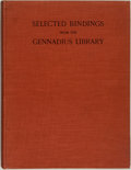 Books:Books about Books, Lucy Allan Paton. LIMITED. Selected Bindings from the Gennadius Library: Thirty-Eight Plates in Colour. Cambridg...