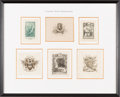 Books:Fine Press & Book Arts, [Bookplates]. Collection of Ten Bookplates with Fishing Themes[N.p., n.d.]. ... (Total: 2 Items)