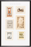 Books:Fine Press & Book Arts, [Bookplates]. Collection of Twelve Bookplates with Egyptian Themes[N.p., n.d., though circa early to mid-1900's]. ... (Total: 2Items)