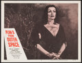 """Movie Posters:Science Fiction, Plan 9 from Outer Space (DCA, 1958). Lobby Card (11"""" X 14"""").Science Fiction.. ..."""
