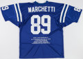 Football Collectibles:Uniforms, Gino Marchetti Signed Baltimore Colts Jersey....