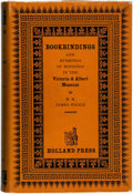 Books:Books about Books, W. H. James Weale. Bookbindings and Rubbings of Bindings in the Victoria & Albert Museum. The Holland Press, [19...
