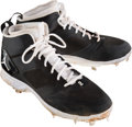 Baseball Collectibles:Others, 2014 Derek Jeter Game Used Cleats. ...