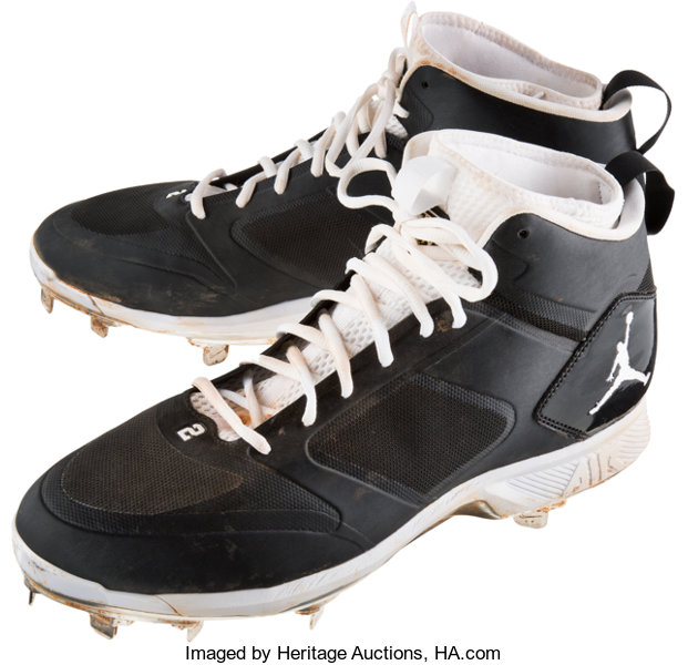4569bc45e 2014 Derek Jeter Game Used Cleats. ... Baseball Collectibles Others ...