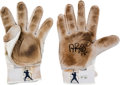 Baseball Collectibles:Others, Circa 2012 Albert Pujols Game Used Signed Batting Gloves. ...