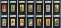 Baseball Cards:Sets, 1909-11 T206 White Border Near Set (399/524) With All 4 Cobbs. ...