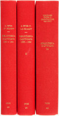 Books:Reference & Bibliography, Rodolphe Peter and Jean-Francois. Bibliotheca Calviniana: Lesoeuvres de Jean Calvin publiées au XVIe siecle. Ge... (Total: 3Items)
