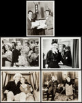 """Movie Posters:Musical, Blue of the Night & Others Lot (Paramount, 1933). Photos (2), Television Reissue Photo, Restrike Photo (8"""" X 10""""), and Behin... (Total: 5 Items)"""