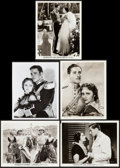 """Movie Posters:Action, The Charge of the Light Brigade & Other Lot (Warner Brothers,1936). Photos (5) (8"""" X 10""""). Action.. ... (Total: 5 Items)"""