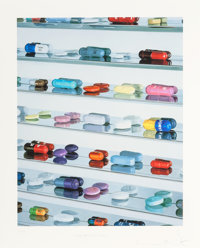 Damien Hirst (British, b. 1965) Pharmaceuticals, 2005 Inkjet print in colors 41-1/2 x 33 inches (