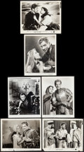 """Movie Posters:Adventure, If I Were King & Other Lot (Paramount, 1938). Portrait andScene Photos (5) & Restrike Photo (8"""" X 10.25""""). Adventure..... (Total: 6 Items)"""