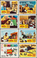 """Movie Posters:Fantasy, The 3 Worlds of Gulliver (Columbia, 1960). Lobby Card Set of 8 (11"""" X 14"""") & Photos (5) (8"""" X 10""""). Fantasy.. ... (Total: 13 Items)"""