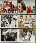 """Movie Posters:James Bond, Goldfinger & Others Lot (United Artists, 1964). Photos (3),Color Photos (4), & Mini Lobby Cards (3) (8"""" X 10""""). JamesBond.... (Total: 10 Items)"""