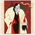 "Animation Art:Poster, 101 Dalmatians ""Hello Darling!"" Cruella De Vil LimitedEdition Lithograph Print #492/7500 (Walt Disney, 1997)...."