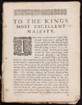 Books:Americana & American History, [Thomas Thorowgood]. [Jews in America, or Probabilities, thatthose Indians are Judaical,....]. [London: 1660.]...