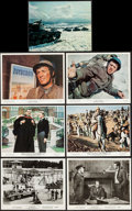 "Movie Posters:War, The Great Escape (United Artists, 1963). Color Photos (2), Photo,Behind the Scenes Photo, Restrike Photos (3) (8"" X 10""), M...(Total: 14 Items)"