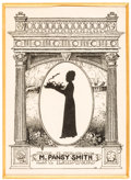 Books:Americana & American History, [Bookplates]. Eighteen Bookplates with Silhouettes. [N.p., n.d.].... (Total: 4 Items)