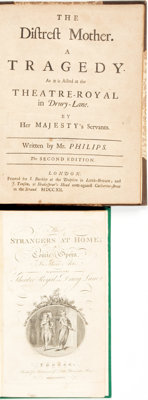 [Literature]. Pair of Eighteenth-Century Titles. Various publishers, 1712 - 1736