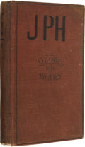 Autographs:Statesmen, [World War I]. John Philip Hill's Diary for 1917 and 1919. ...