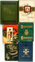 Books:Children's Books, [Children's] Group of Six Victorian Children's Books. Various publishers, 1875 - 1895. . ... (Total: 6 Items)