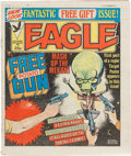 Magazines:Superhero, Eagle British Comic Magazine Short Boxes Group (IPC Magazines,LTD., 1983-93) Condition: Average FN.... (Total: 5 Items)