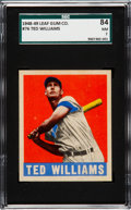 Baseball Cards:Singles (1940-1949), 1948 Leaf Ted Williams #76 SGC 84 NM 7....